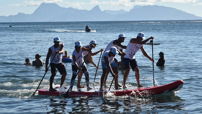 2019 Edition of the Air Tahiti Nui Paddle Royal Race !
