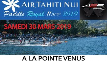 Air Tahiti Nui Paddle Royal Race