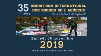Marathon international des Gorges de l'Ardèche 2019