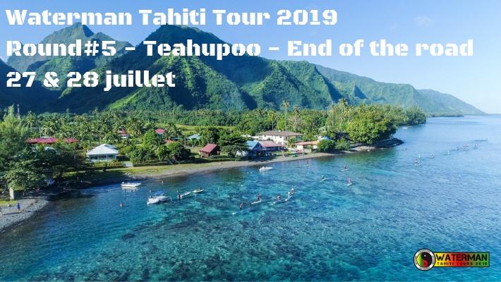 Waterman Tahiti Tour 2019 – Teahupoo End of the road –  Round 5