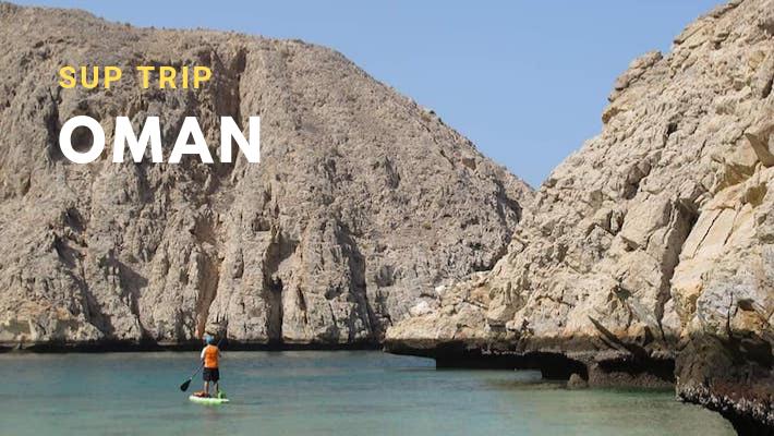 SUP Trip : ils ont passé 9 jours en autonomie totale dans les fjords d'Oman