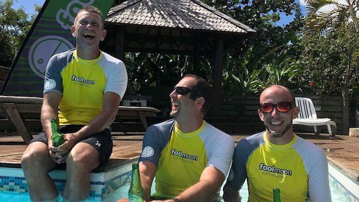 Ambassadeurs Fool Moon depuis 2 ans, ils ont fêté ça en Guadeloupe dans la Fool Moon House !