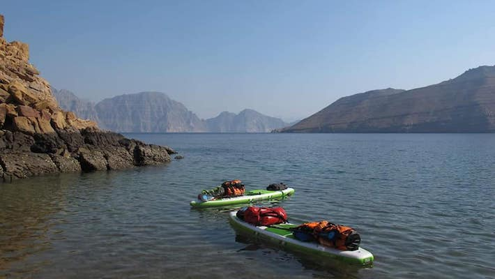 Fool Moon SUP Expedition: 9 Days in Wild Oman