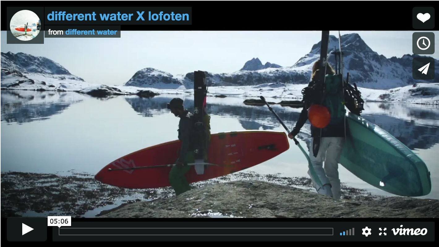 Fanatic riders Paulina Herpel and Valentin Illichmann discover the Lofoten Islands in Norway