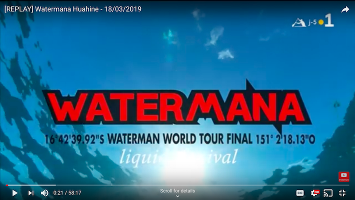 Watermana 2018 – The Replay !