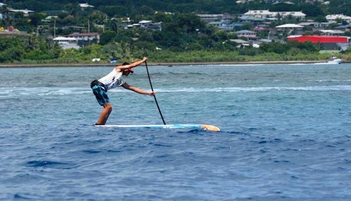 Air France Paddle Festival: à 14 ans, Keoni Sulpice devient un géant du SUP