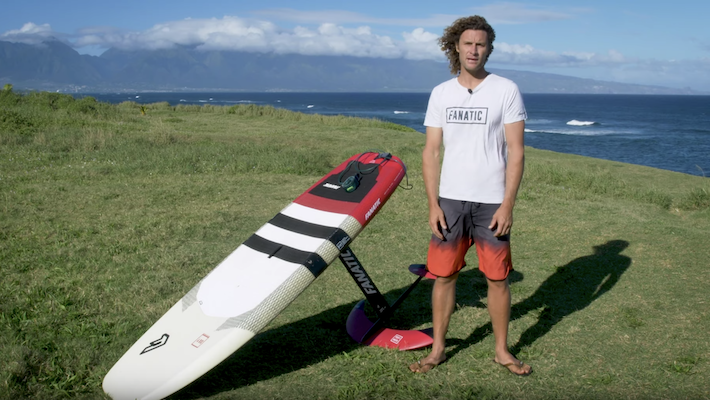How to SUP foil? Fanatic SUP pro rider Sky Solbach shows the ropes!