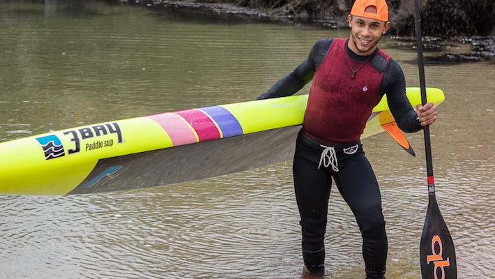 "Ces surfskiers qui passent au SUP – Interview de ""Kirikou"", kayakiste/paddler"