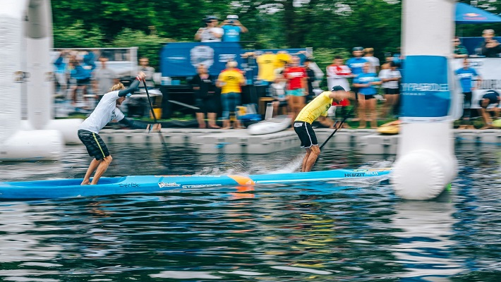 Blistering Displays For The First Stop On The APP World Tour: The London SUP Open!