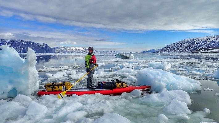 20 jours en SUP au Groenland – l'aventurière Ingrid Ulrich a réalisé son rêve d'enfant