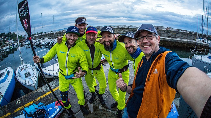 How 5 Men Conquered the 230 KM Istrian SUP Challenge in Croatia!