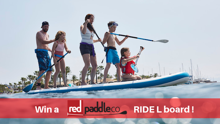 Summer Prize Draw: Win a Red Paddle Co Ride L board and lots of other goodies!