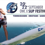 The Sinis SUP Marathon, part of the 2019 Open Water Challenge in Sardinia, Italy will be a Euro Tour event