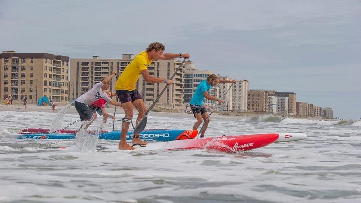Epic sprint battles mark the opening of the racing for the New York SUP Open