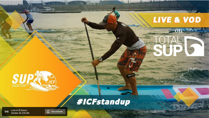 WATCH THE ICF SUP WORLD CHAMPIONSHIPS LIVE WITH TOTALSUP