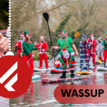 Fanatic UK Charity Santa SUP is set to see a record number of paddlers