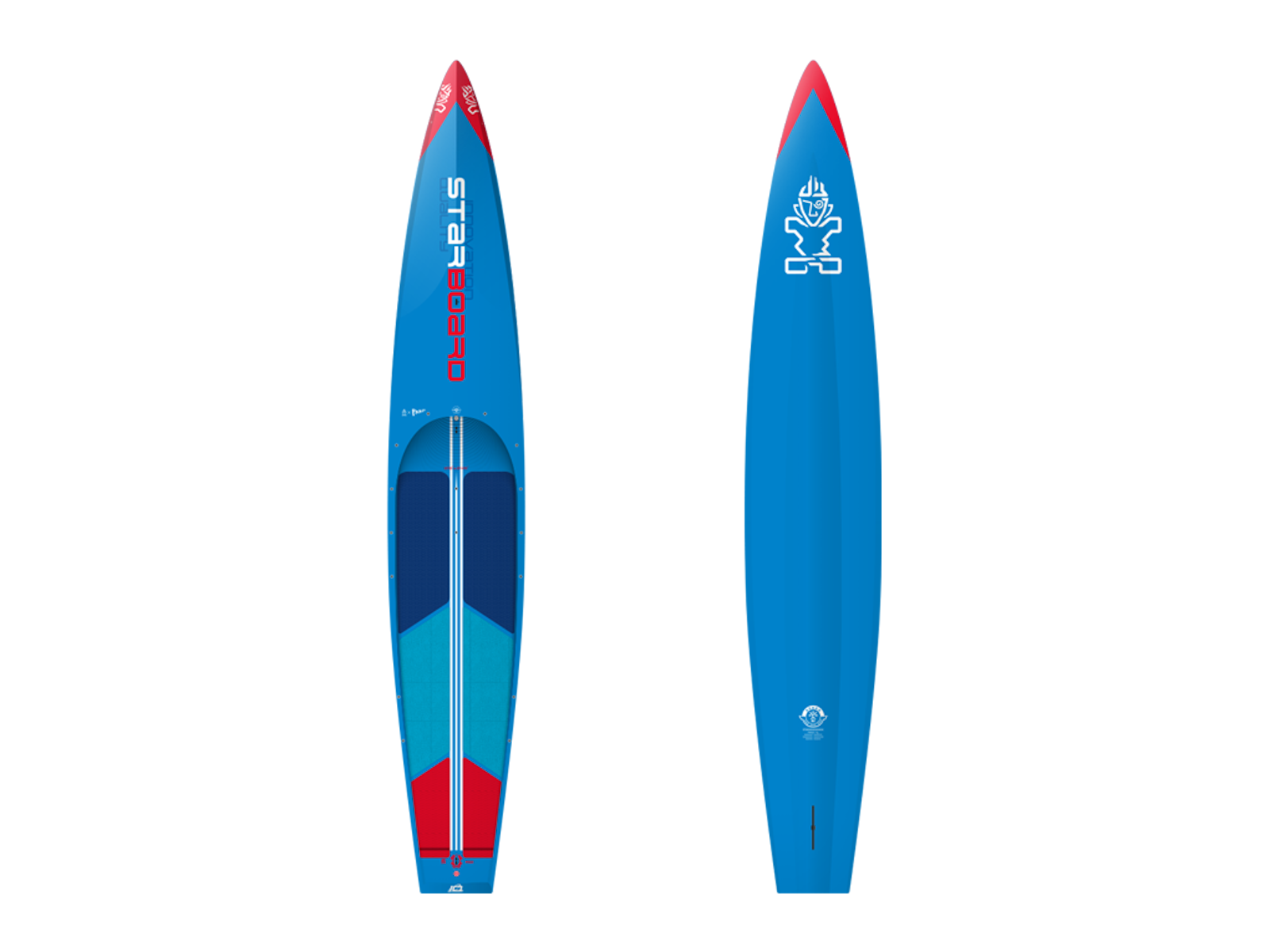 Starboard All Star Wood Carbon 12.6 x 24.5