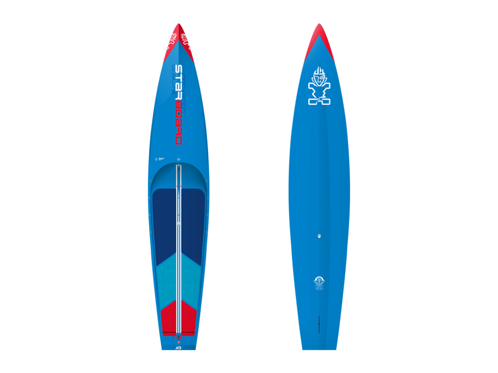 Starboard All Star Wood Carbon 12.6 x 28