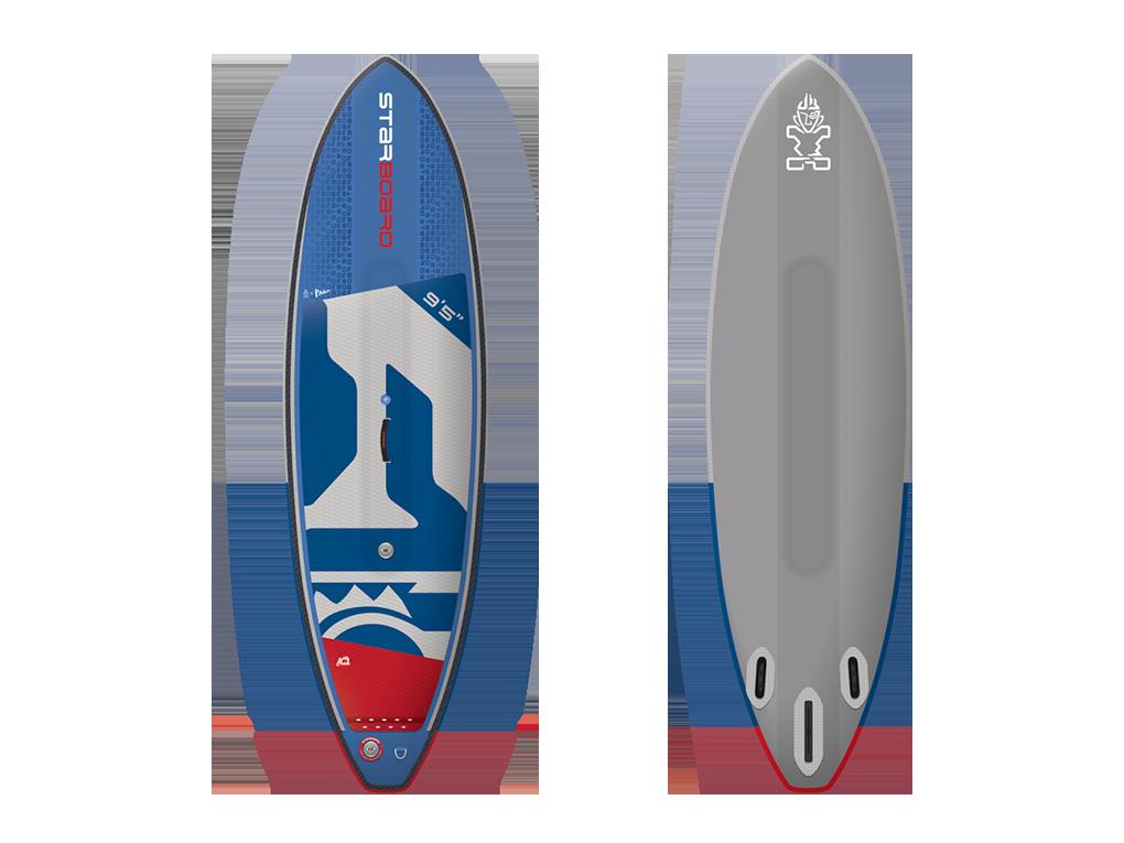 Starboard Surf Deluxe DC 9.5 x 32