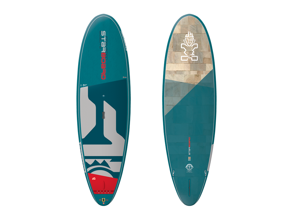 Starboard Whopper Blue Carbon 10 x 34