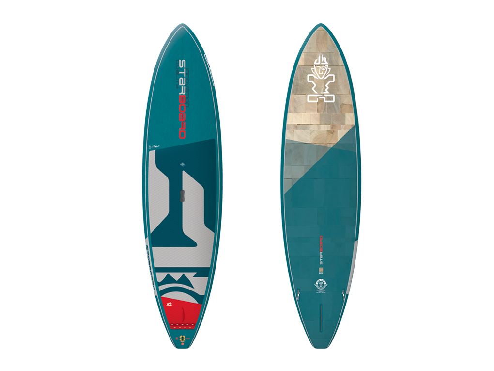 Starboard Wide Point Blue Carbon 10.5 x 32