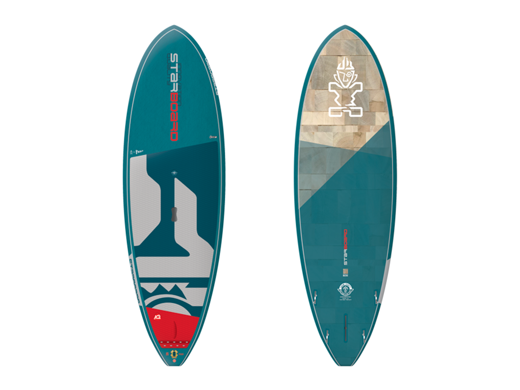 Starboard Wide Point Blue Carbon 8.1 x 32