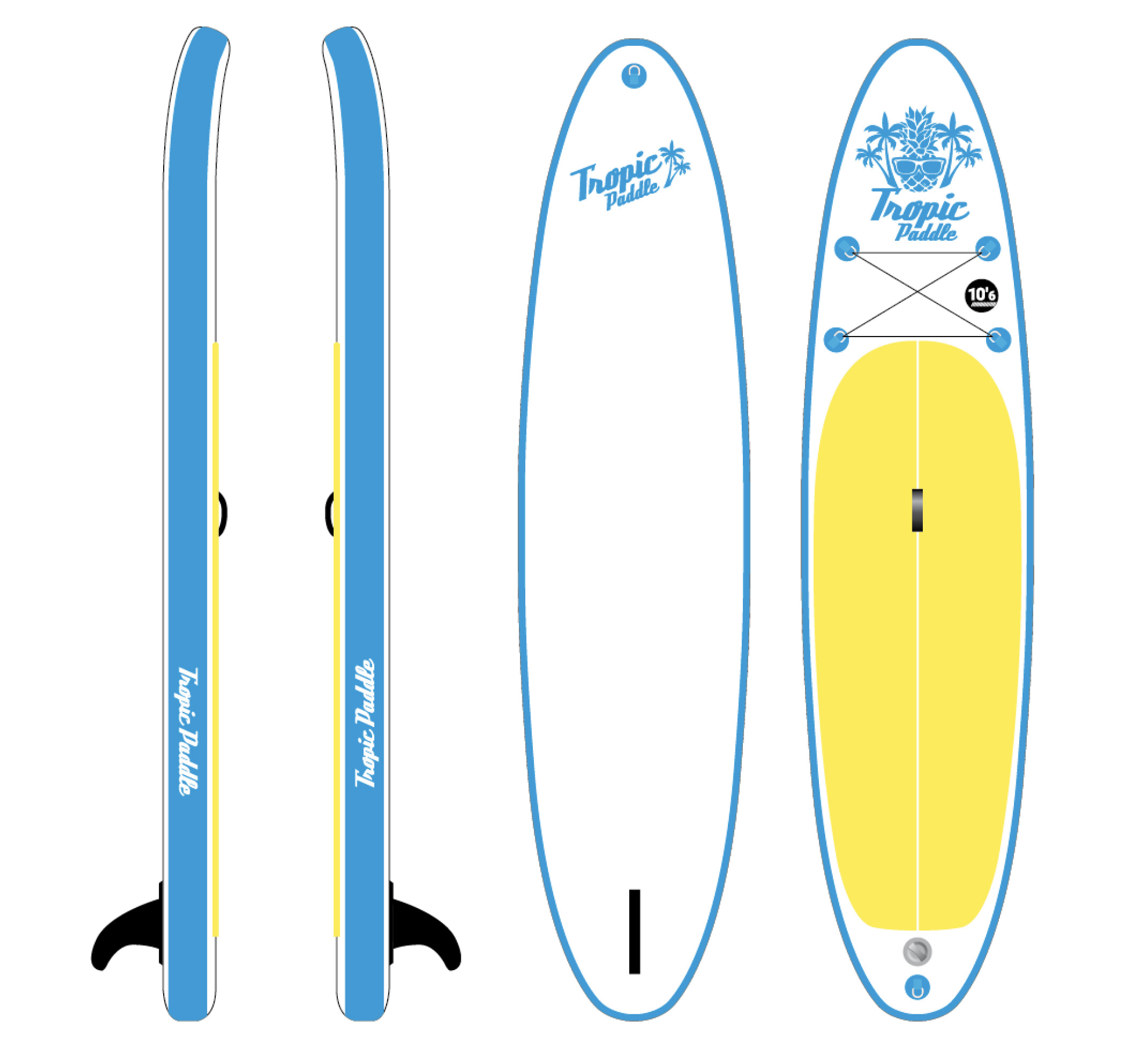 Tropic Paddle Pack 10.6 x 32