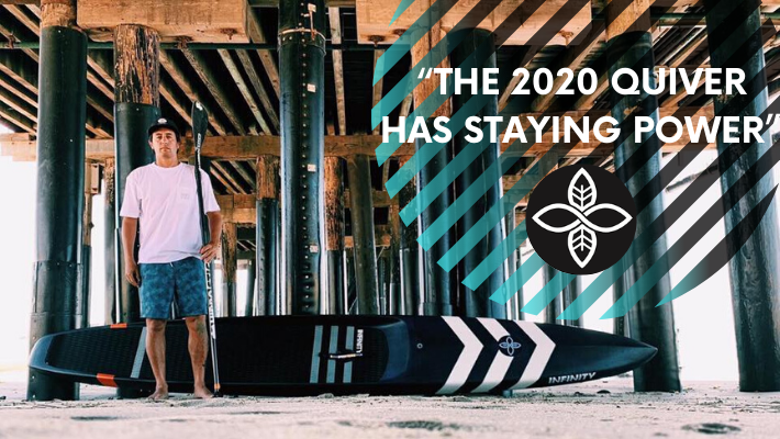 Infinity SUP 2020 Quiver: A dive into progressive SUP surf shapes and foil board design