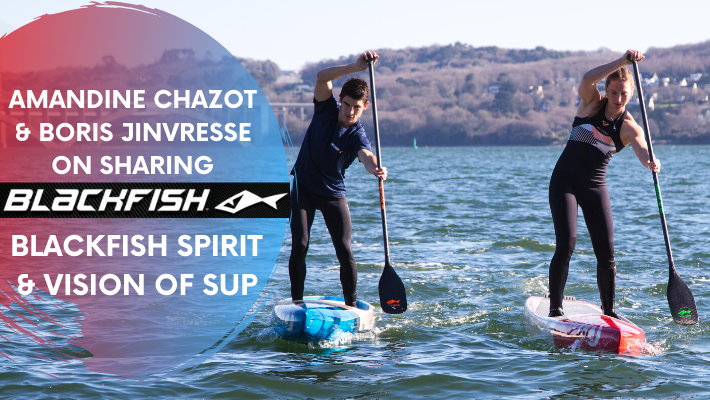 Amandine Chazot and Boris Jinvresse join Team Blackfish