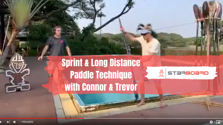 Paddle Technique Tips (Sprint & Long Distance) with Connor Baxter and Trevor Tunnington