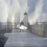 Meet the 2020 version of Fanatic Waterman Christian Andersen aka Polar Bear