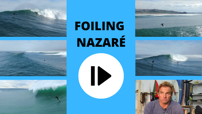 Foiling Nazaré – Laird Hamilton, Luca Padua, Terry Chung and Benny Ferris