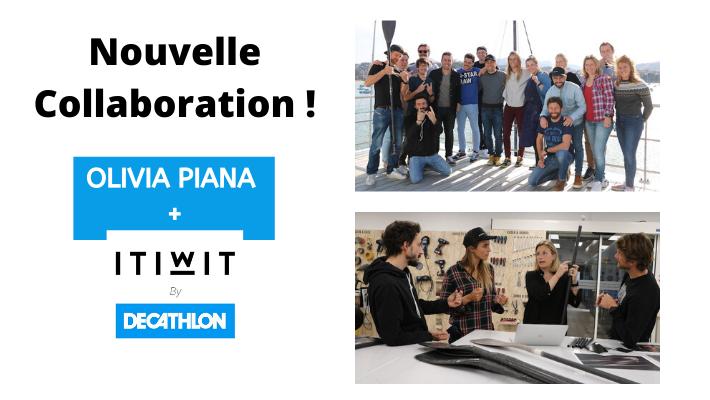 Olivia Piana et ITIWIT s'associent pour développer de nouveaux produits