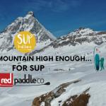 Après Ski SUP in the Italian Alps with SUP Kultura Kraków