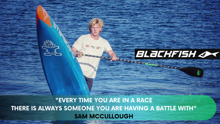 SUP tour de force from the other side of the world: Meet the Blackfish Team Rider Sam McCullough