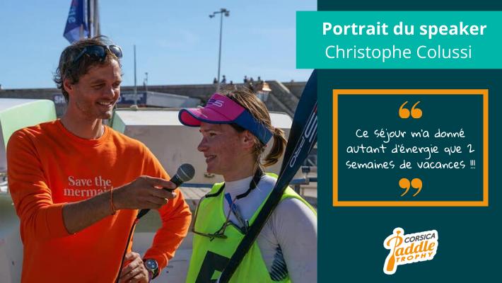 Corsica Paddle Trophy : Chris Puremagic, le speaker qui fait vivre les grands évènements de SUP