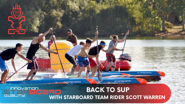 Top tips to paddleboard injury-free from Starboard Team Rider Scott Warren