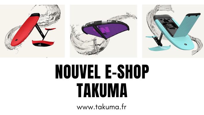 Takuma, la marque 100 % foil lance son e-shop !!
