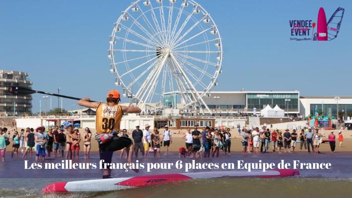 Vendée Gliss Event : 6 places pour les championnats du monde de SUP Race en jeu !