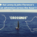 In CROSSINGS, Kai Lenny and John John Florence Foil the Kaua'i Channel on a Catamaran