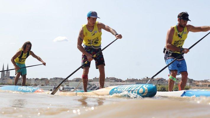 Bord'ocean SUPdays: 120 participants à Bordeaux et de grosses conditions à Lacanau pour la 5ème édition !
