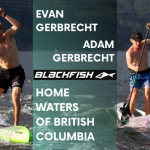 Stand-up paddle Canada with Blackfish SUP powerhouse Adam & Evan Gerbrecht