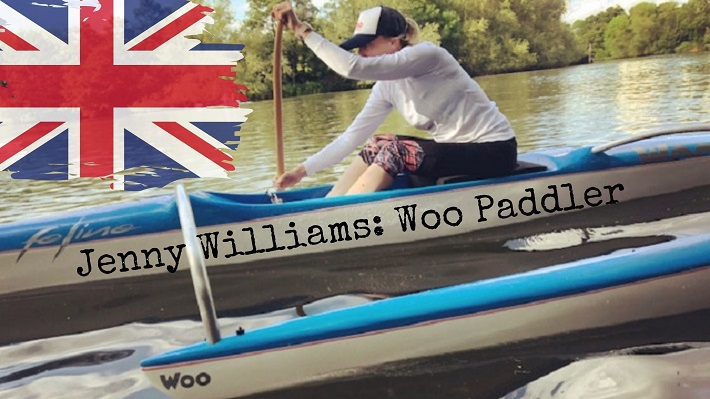 Jenny Williams and Woo Outrigger: The Great British Paddle Ohana!