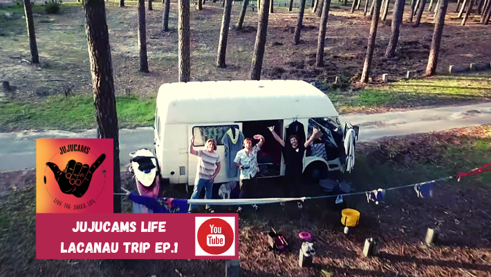 JujuCams Life: Lacanau SUP & Surf Trip – Episode 1
