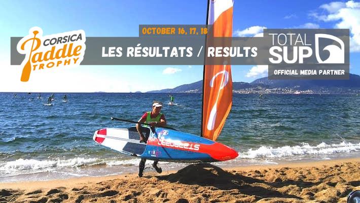 Les Résultats du Corsica Paddle Trophy 2020