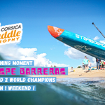 Spanish Dark Horse Espe Barreras Shakes Up the Women's SUP Race Hierarchy at the Corsica Paddle Trophy