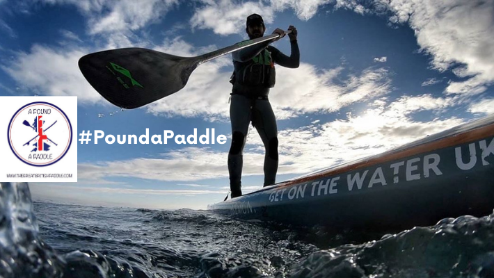 #PoundaPaddle: SUP community stands up to support Jordan Wylie's mission