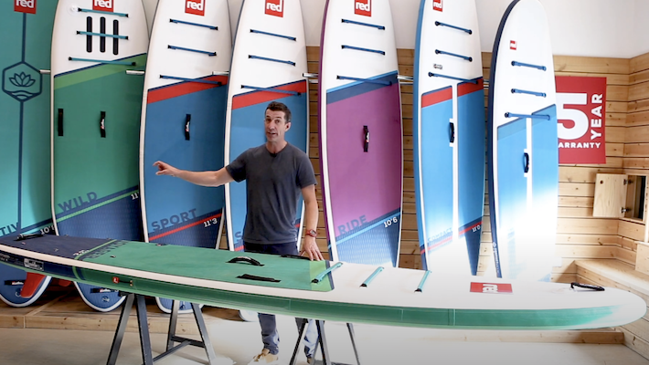 Red Paddle Co's CEO John Hibbard introduces the 2021 Voyager Range
