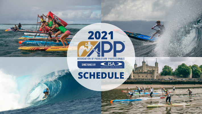 The 2021 APP World Tour Calendar Promises to Deliver an Epic Route to the SUP Race & SUP Surf World Titles (pandemic-permitting)