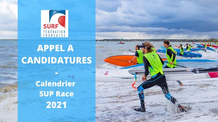 Calendrier SUP RACE 2021 – Appel à Candidatures